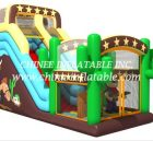 T8-1493 inflatable slide