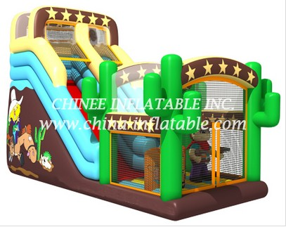 T8-1493 inflatable slide
