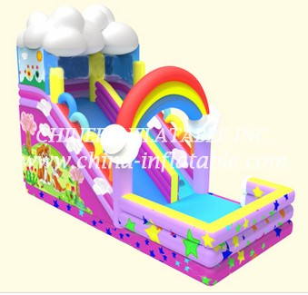 T8-1494 inflatable slide