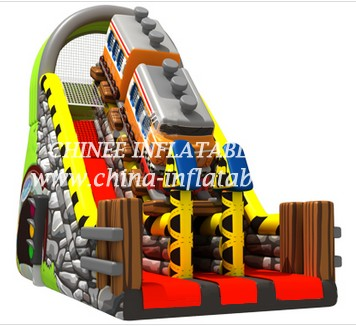 T8-1496 inflatable slide