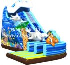 T8-1504 inflatable slide