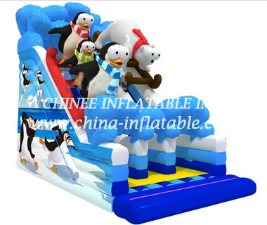 T8-1505 inflatable slide