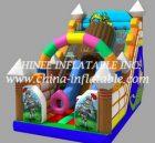 T8-1506 inflatable slide