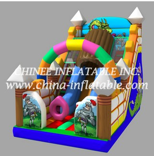T8-1506 inflatable slide