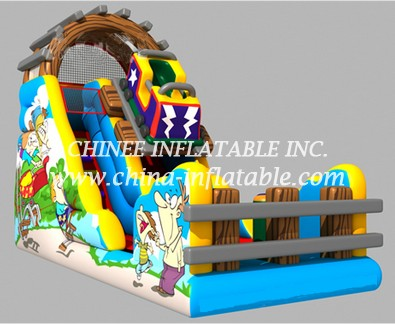 T8-1507 inflatable slide