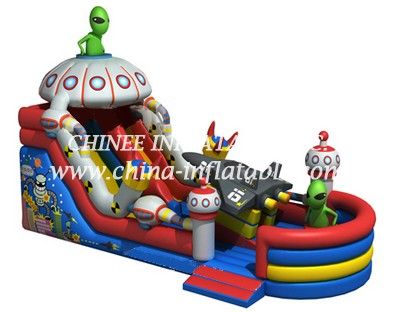 T8-1511 inflatable slide
