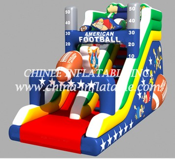 T8-1514 inflatable slide