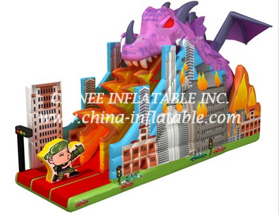 T8-1515 inflatable slide