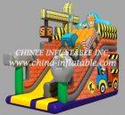 T8-1518 inflatable slide