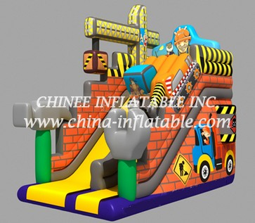 T8-1518 inflatable slide
