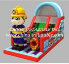 T8-1519 inflatable slide