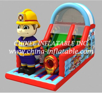 T8-1519 inflatable slide