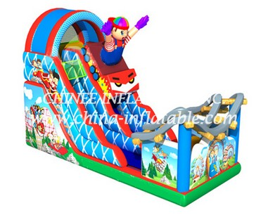 T8-1521 inflatable slide