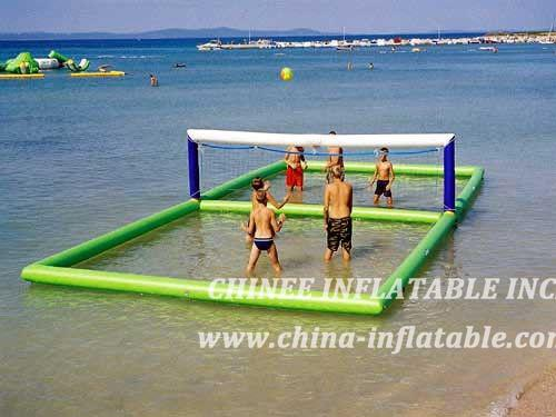 T10-131 Floating Volleyball Field
