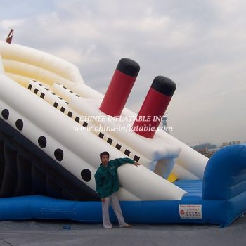 T2-40 Inflatable slide