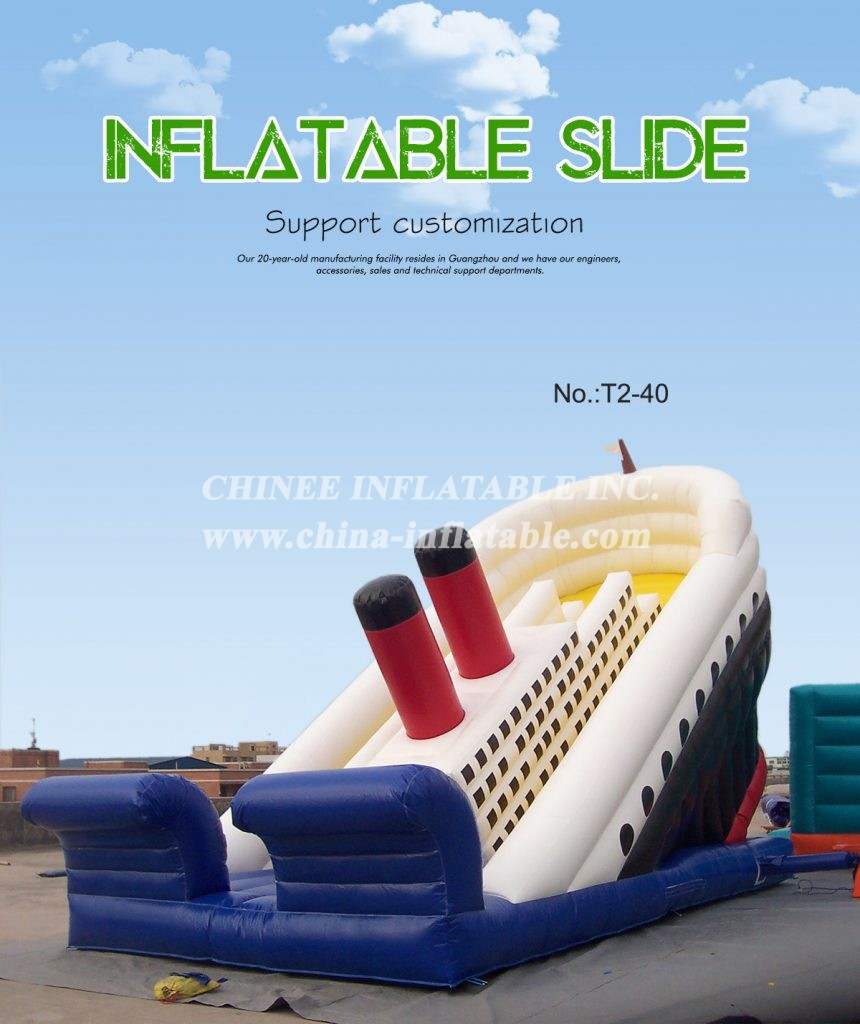 T2a-40 - Chinee Inflatable Inc.