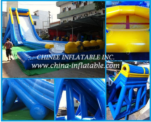 T8-1528 Inflatable slide