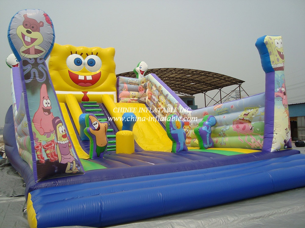 T8-842 inflatable slide