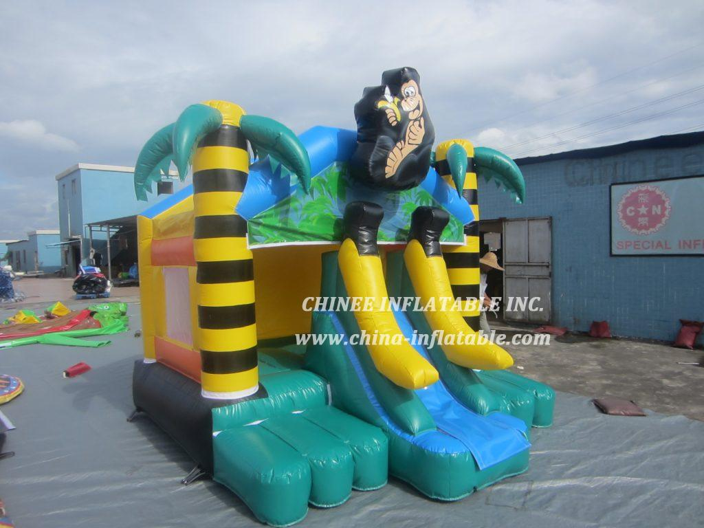 T2-3403 monkey jungle banana bouncer