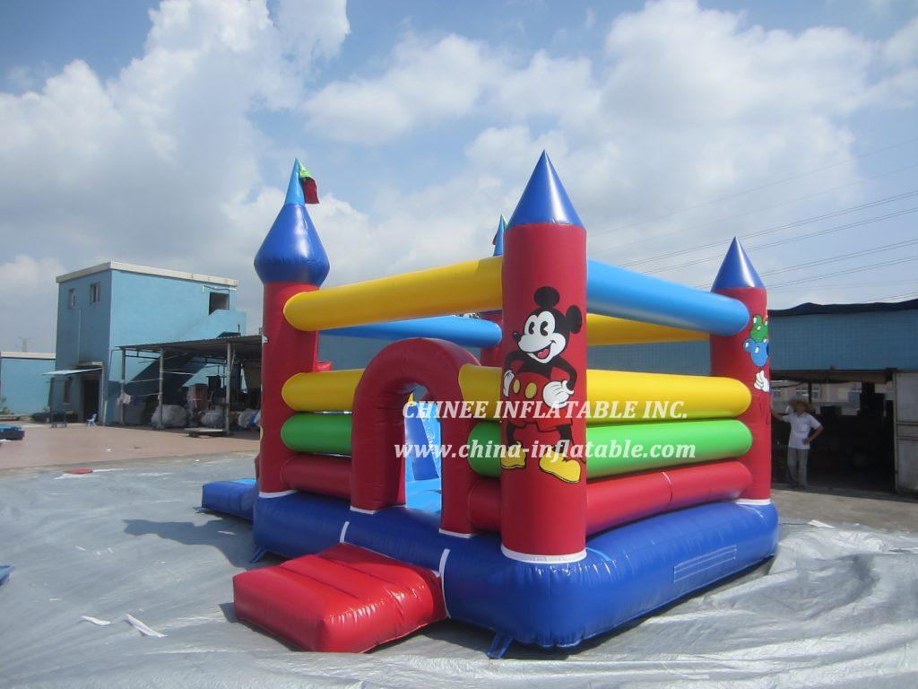 T5-687  Mickey Mouse jumper slide combo