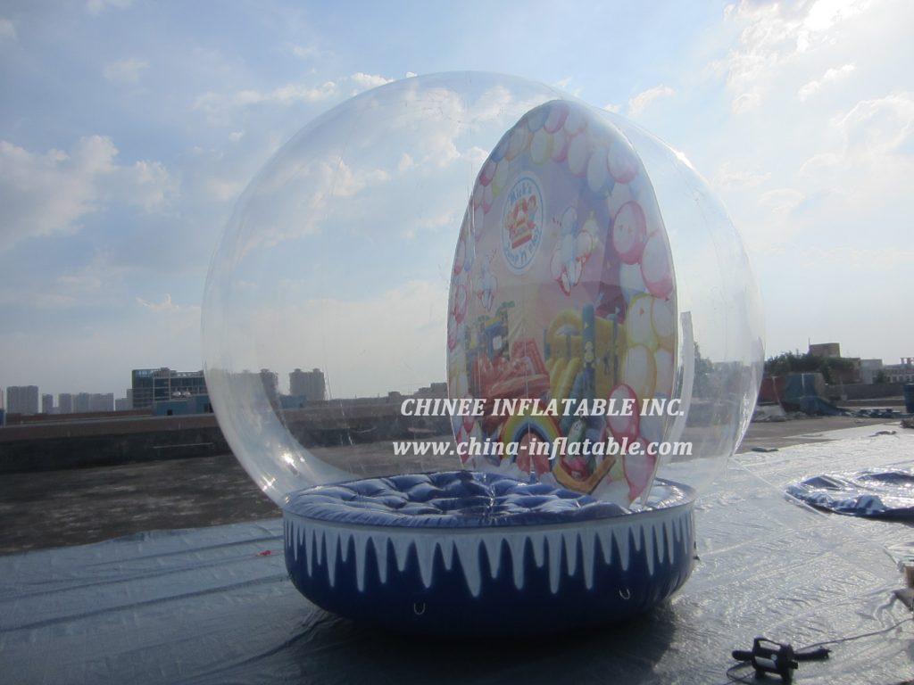 T2-3406  bubble Christmas bouncer
