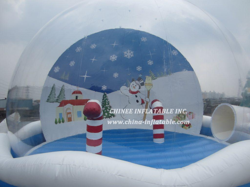 T2-3412 christmas gift snowman candy bouncer
