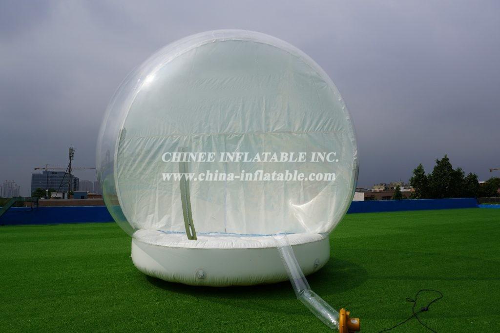 T2-3408 bubble snowball christmas bouncer