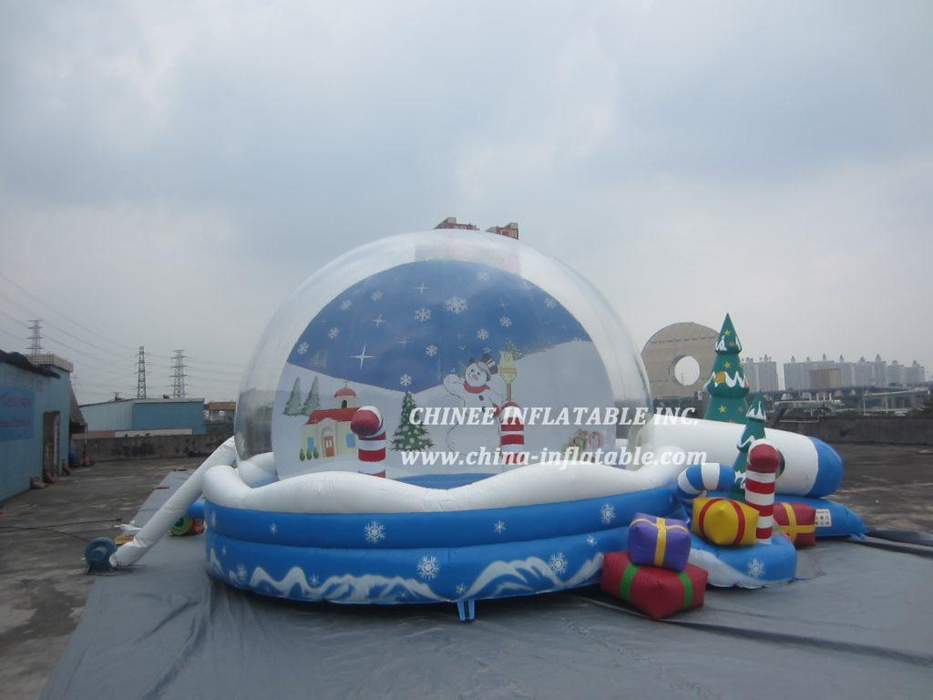 T2-3430 Christmas jumper combo bubble bouncer