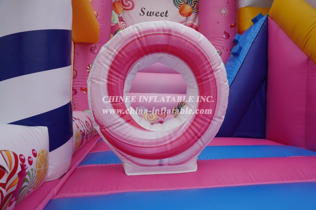 T2-3477 Sweet Candy Bouncy House Combo