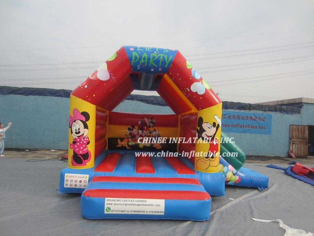 T2-3489 Mickey Minnie combo jumper