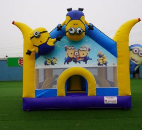 T2-3429 Inflatable Minion bouncer Despicable Me combo