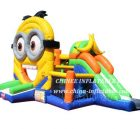 T2-3467 Minion Banana Inflatable Combo
