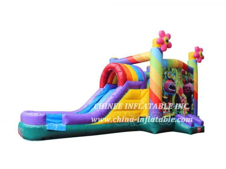 T2-3478 Trolls Water Slide Bounce House