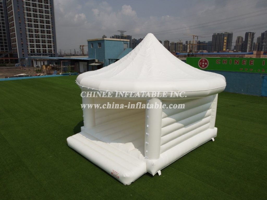 T2-3491 Outdoor White Inflatable Wedding Party Tent Bounce House
