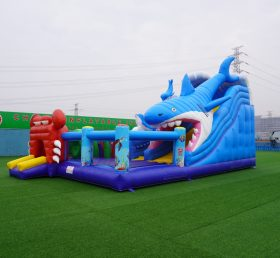 T6-603  Inflatable sea playground inflatable sea world fun city