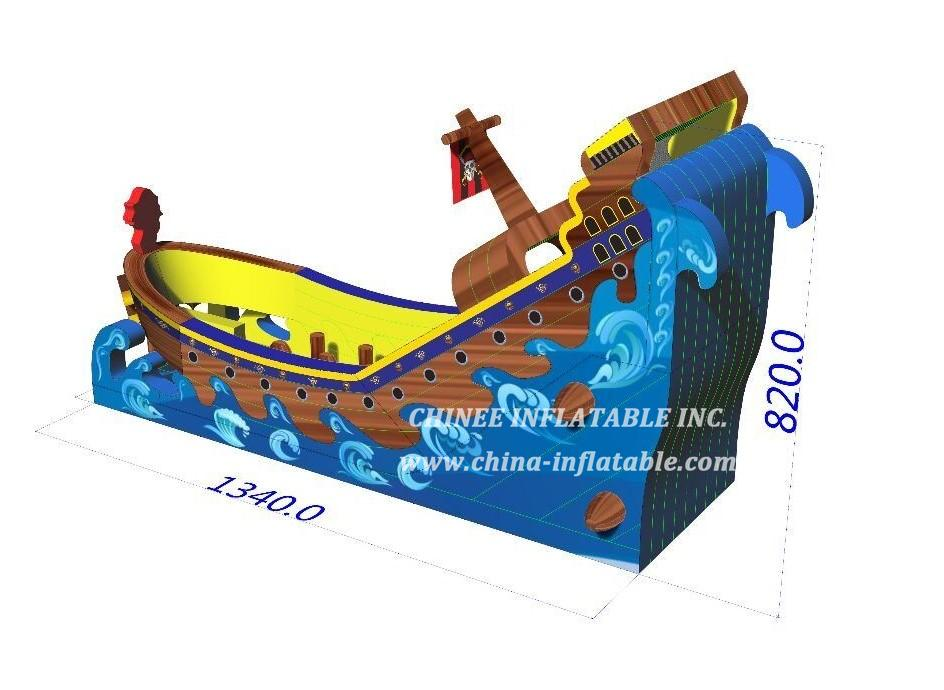 T8-1561 pirate ship slide