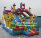 T8-834B Mickey & Minnie castle slide combo