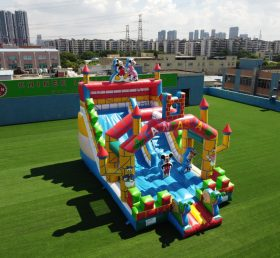 T8-834B Disney mickey mouse inflatable park for kids Inflatable playground castle