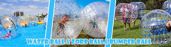 Water ball & Zorb ball& Bumper ball