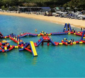 S21 Inflatable water park Aqua park Water Island from Chinee inflatables