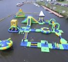 S37 Inflatable water park Aqua park Water Island from Chinee inflatables