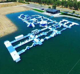 S25 Inflatable water park Aqua park Water Island from Chinee inflatables