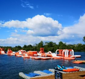 S51 Inflatable water park Aqua park Water Island from Chinee inflatables