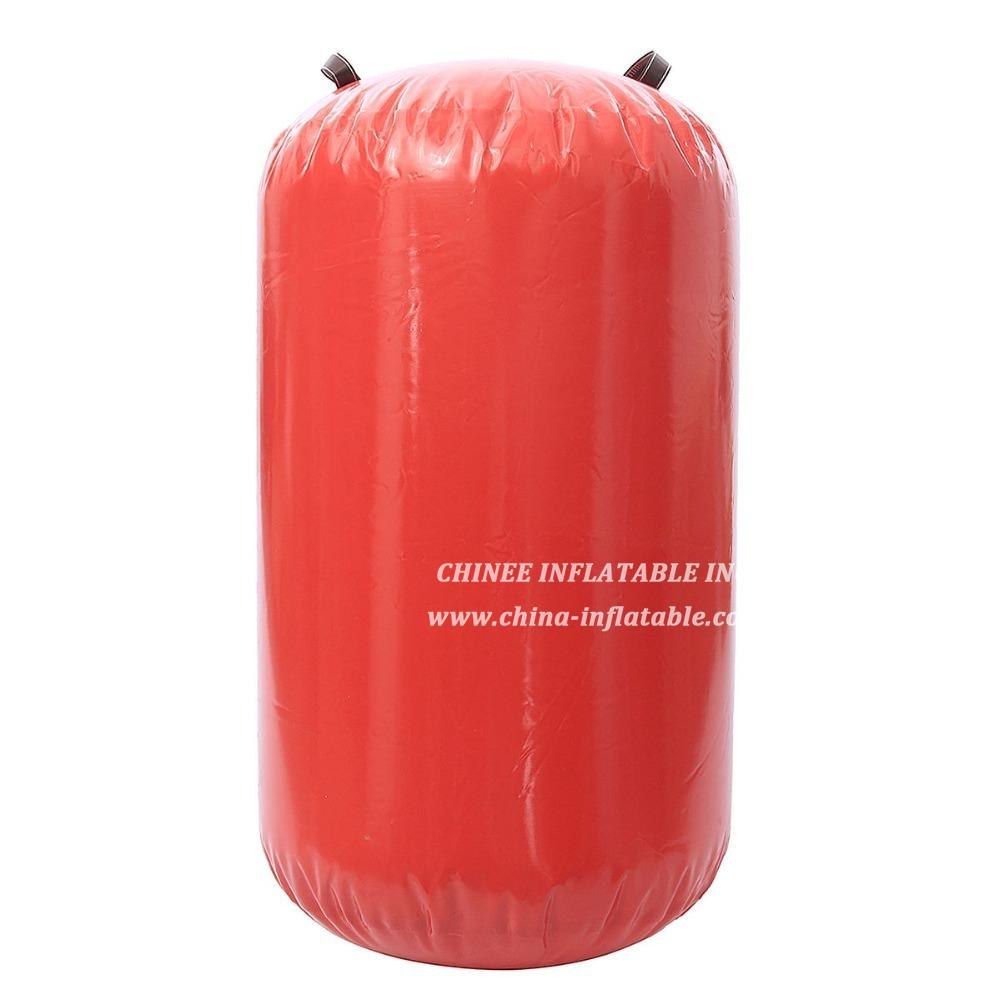 AT1-018 Inflatable Air Roller Gymnastic Air Barrel For Exercise Training With Electric Pump