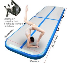 AT1-025Inflatable Gymnastics Mattress Gym Tumble Air Track Floor Tumbling Air Track Mat For Adults Or Child