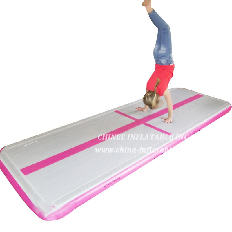 AT1-030 Inflatable Bouncer Gymnastics Airtrack Air Track FloorTrampoline Electric Air Pump For Home Use/training/cheerleading/beach