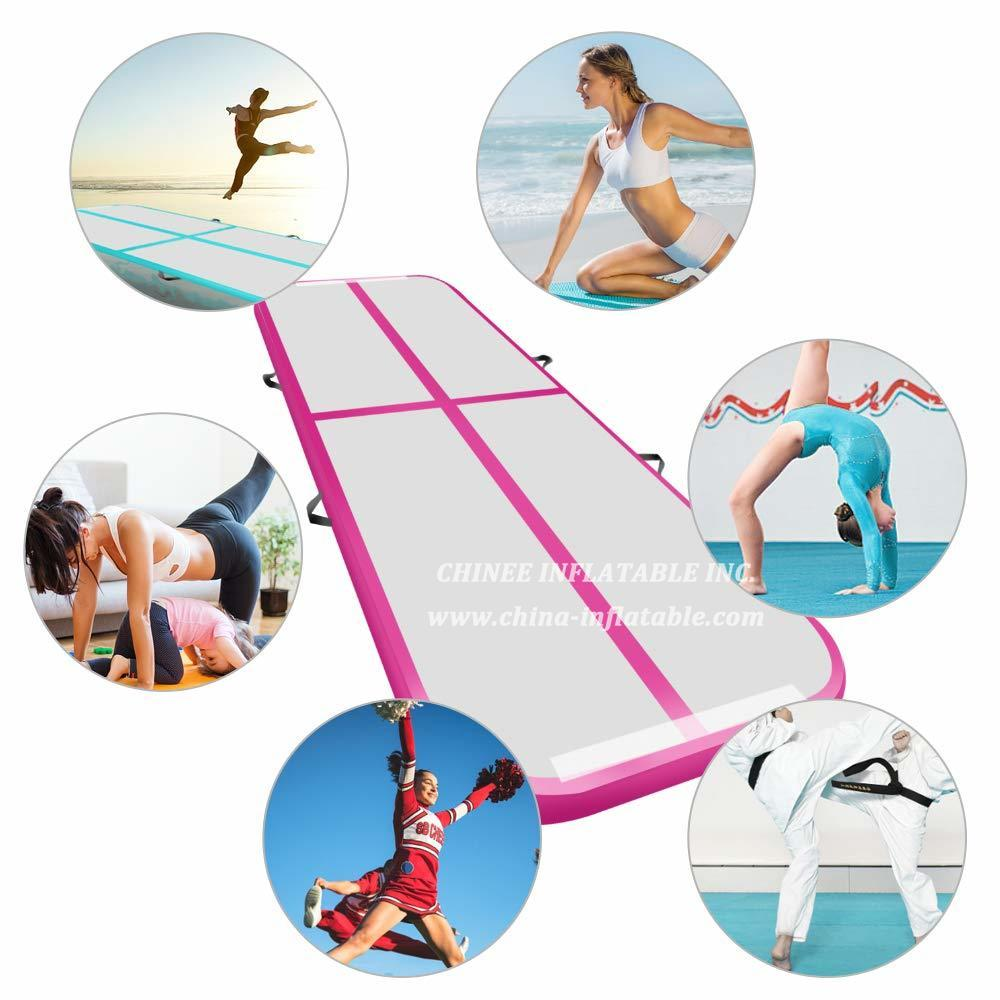 AT1-037 Inflatable Gymnastics Airtrack Tumbling Air Track Floor Trampoline For Home Use/training/cheerleading/beach