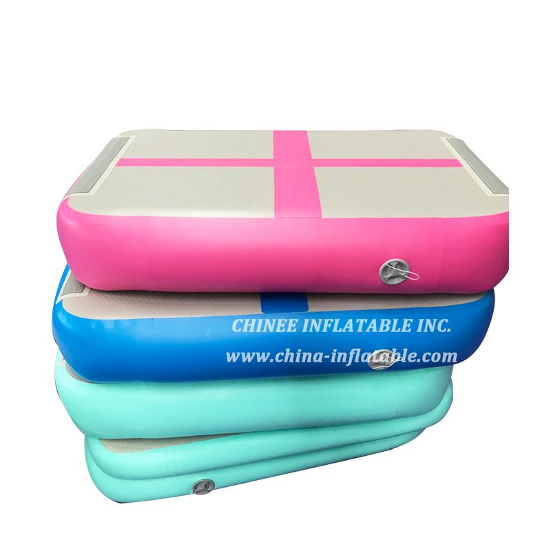 AT1-040 Air Block Tumbling Airtrack Gymtastic Professional Inflatable Air Track Hot Sale