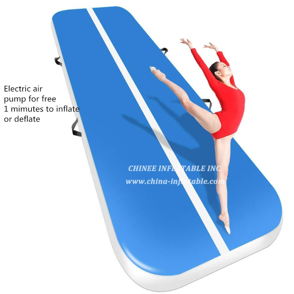 AT1-041  4m Inflatable Gymnastics Mattress Gym Tumble Air Track Floor Tumbling Air Track Mat For Adults Or Child