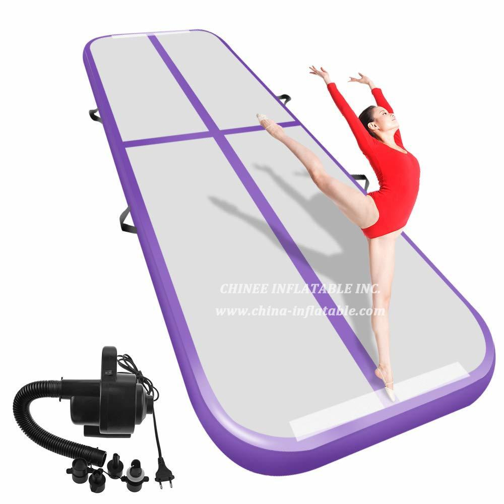 AT1-052 Inflatable Gymnastics Airtrack Tumbling Air Track Floor  Trampoline Electric Air Pump For Home Use/training/cheerleading/beach